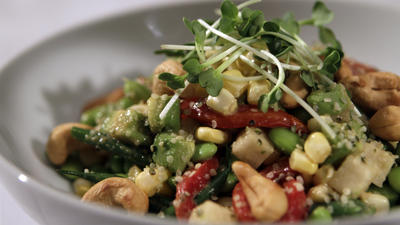 BLD's fresh vegetable salad