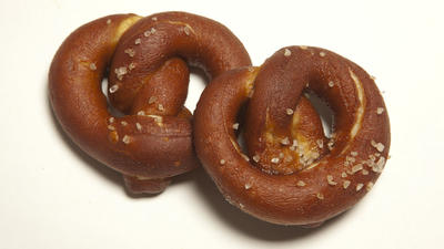 Hard pretzels