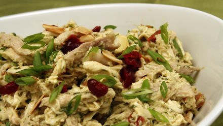 The Curious Palate's chicken salad