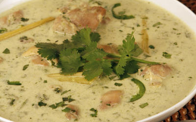 Novo's Thai green chicken curry