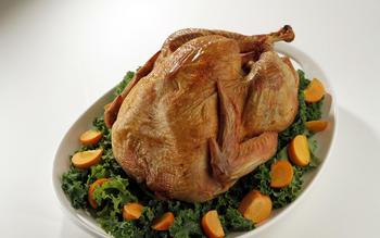 Dry-brined turkey