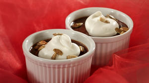 Mexican chocolate pot de creme