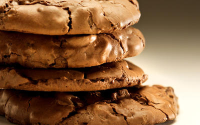 Julienne's double-chocolate espresso walnut cookies