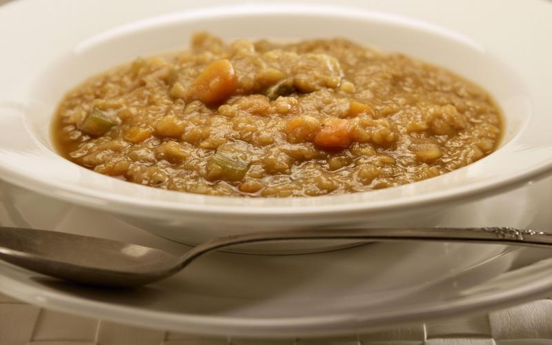 Taix's split pea soup