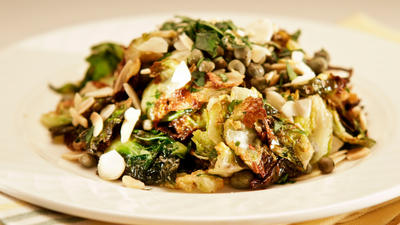 Cleo's Brussels sprouts