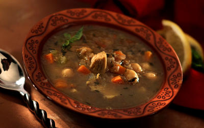 Cayenne's Moroccan chicken soup