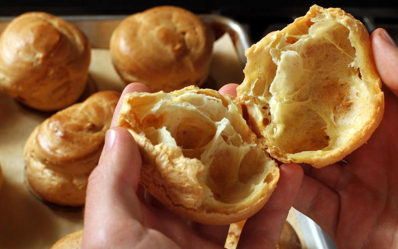 Recipe: Pate a choux (cream puff pastry) - California Cookbook