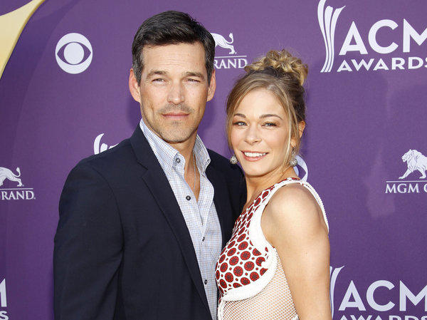Country singer LeAnn Rimes, right, and her husband Eddie Cibrian, shown in April at the Academy of Country Music Awards in Las Vegas, will have a six-episode series on VH1.