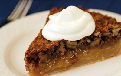 Rib City Grill's pecan pie