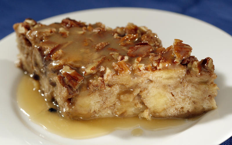 ... Zea's sweet potato bread pudding with rum sauce - California Cookbook