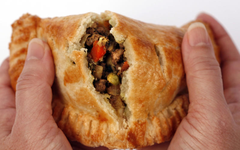 Curried lamb hand pies