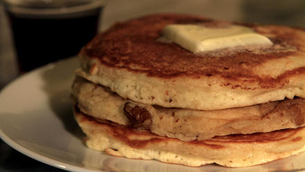 Neil's pancakes from Clinton Street