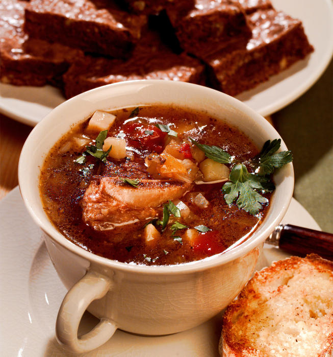 Recipe: Old-Fashioned Beef and Vegetable Soup - California Cookbook