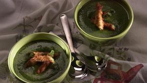 Luna Park asparagus soup