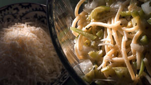 Spaghetti With Green Sauce