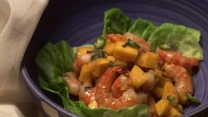 Shrimp and Papaya Salad