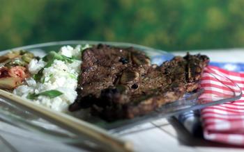 Beef short ribs (Kalbi)