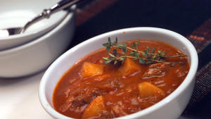 Cafe Cego's goulash soup