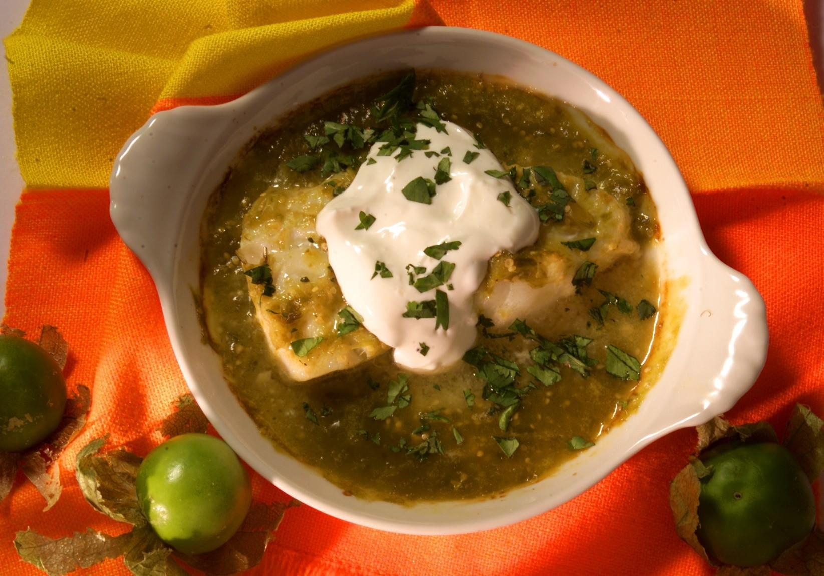 Recipe Baked Chilean Sea Bass With Tomatillo Sauce