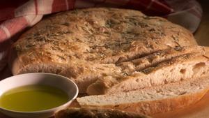 Monti's Roman bread (focaccia)