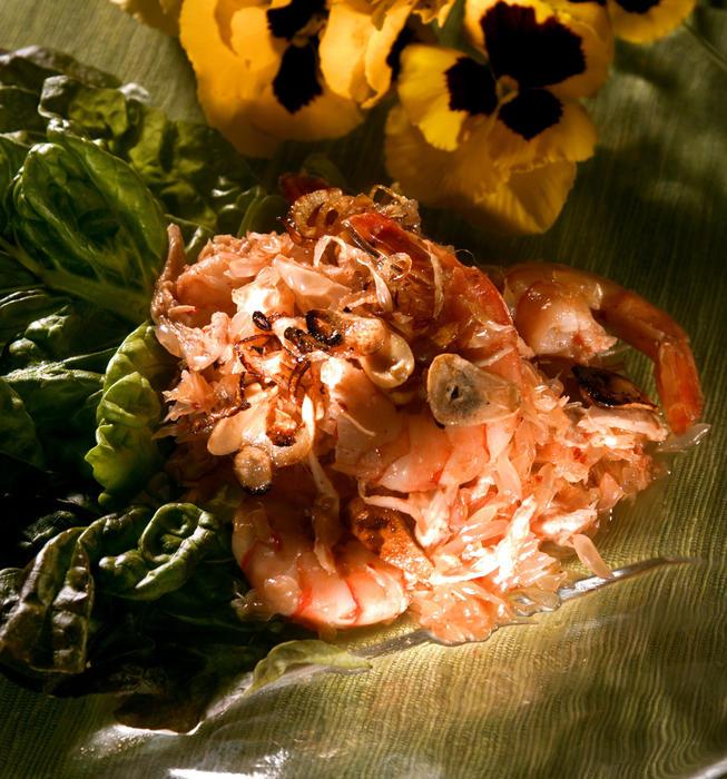 Bangkok-Style Pummelo Salad (Yum Som-O)
