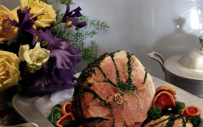 Claudia McQuillan's Stuffed Easter Ham