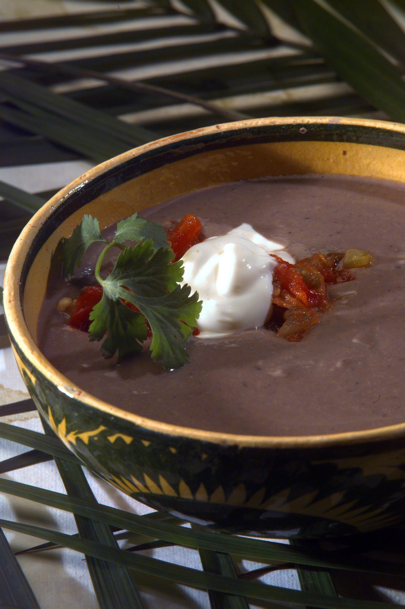 Recipe: Cuban Black Bean Soup - California Cookbook