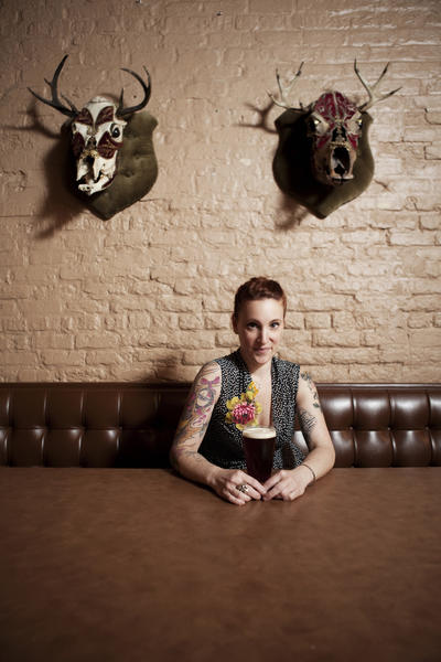 Chef Mindy Segal of Hot Chocolate will be honored at this year's Taste of the Nation Chicago on Navy Pier August 14.