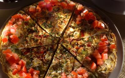 Roasted Potato and Leek Frittata