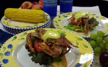 Open-Faced Soft-Shell Crab Sandwiches