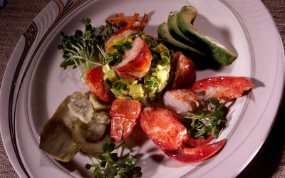 La Cachette Lobster Salad