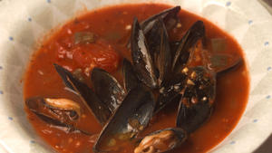 Pismo Beach Steamed Mussels