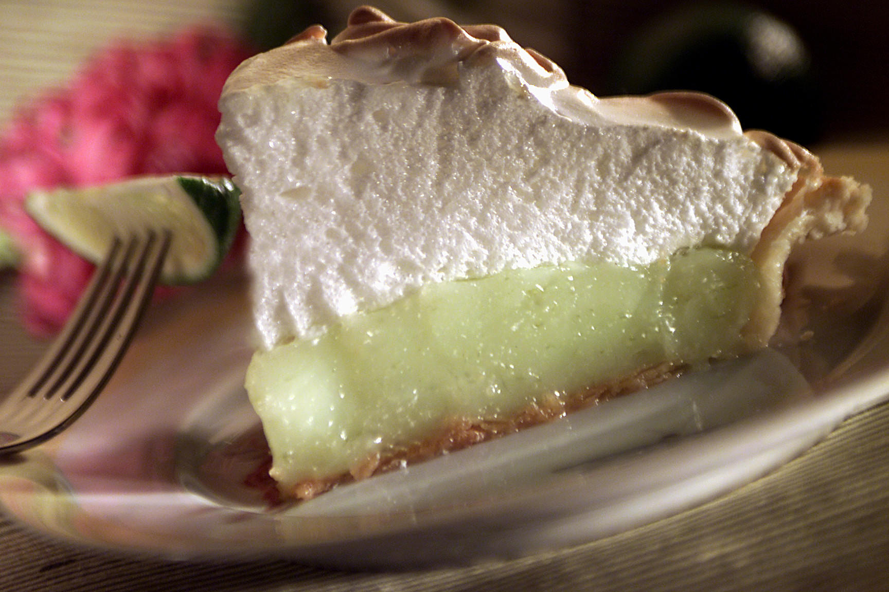 Recipe: Spring lime meringue pie - California Cookbook