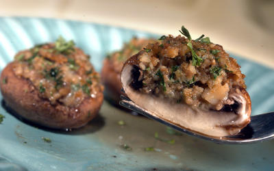 Gene Autry stuffed mushrooms