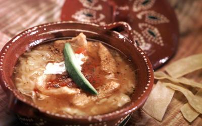 La Golondrina Cafe Sopa de Tortilla