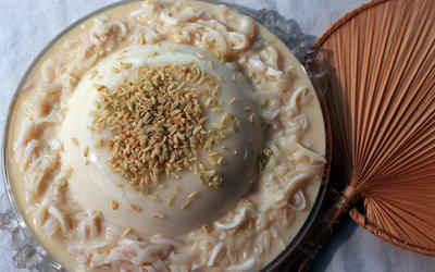 Coconut Curd With Toasted Rice (Reyna Blanca)