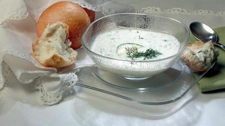 Chilled Yogurt Soup