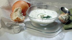 Chilled Yogurt Soup