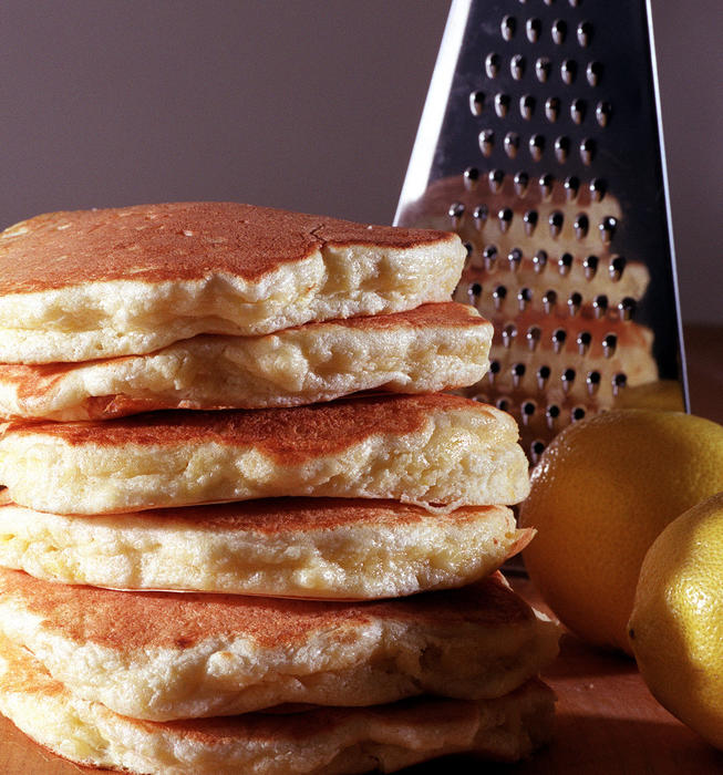 Pluto's Lemon Cloud Pancakes