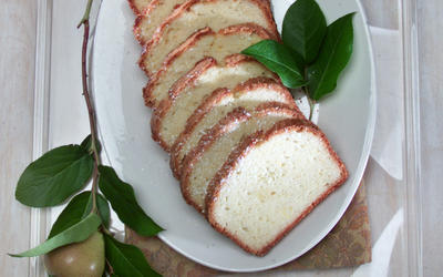 Sukkot Lemon Pound Cake