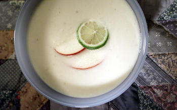 Apple and Coconut Soup