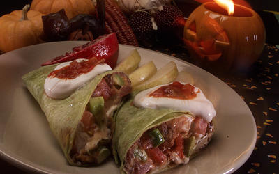 Witch's Brew Burritos
