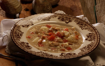 Rhode Island red chowder