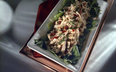 Pork and Asian Pear Salad