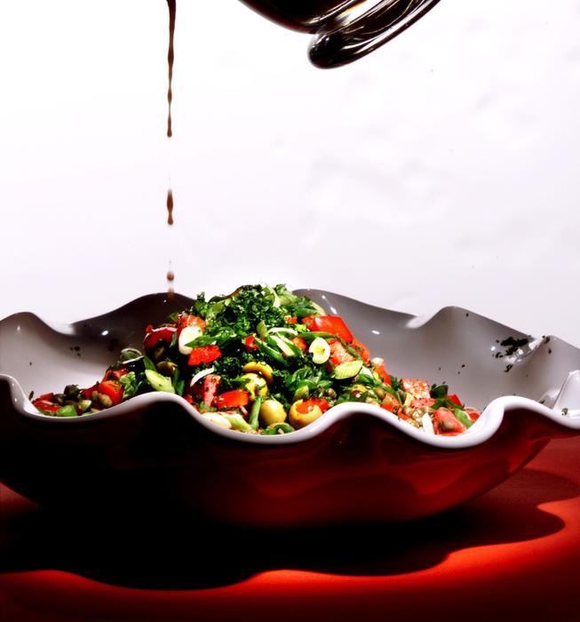 Mediterranean Beef Salad