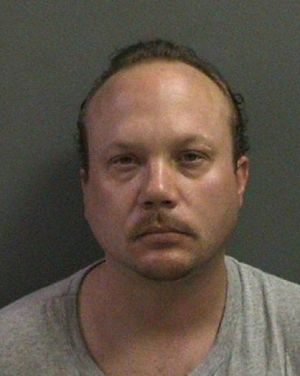 Jace Remington, 34, was arrested on suspicion of marijuana and cocaine possession on Tuesday.