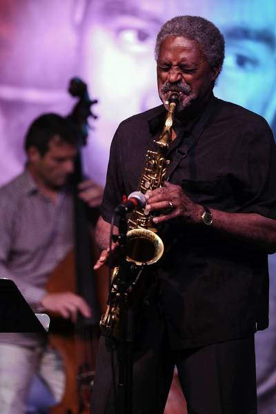 Saxophonist Charles McPherson, with bassist Dennis Carroll, plays Jazz Showcase in Chicago.