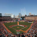 79. With its red bricks and open spaces, Oriole Park at Camden Yards gives us a big hug. Nationals Park, all concrete, metal and glass, gives a cold shoulder to D.C.