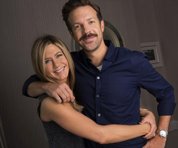"Jennifer Aniston and Jason Suideikis star in summer's new comedy ""We're the Millers."""
