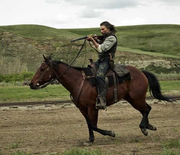 "Railroad work continues on ""Hell on Wheels"" on AMC. With Anson Mount."